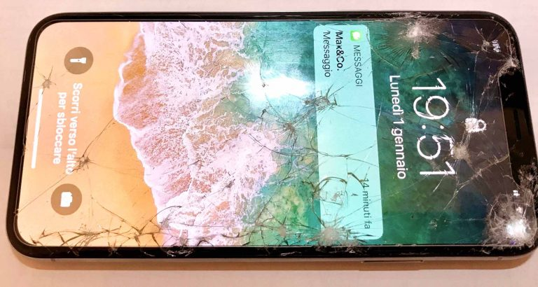 Zamena stakla iPhone X telefona