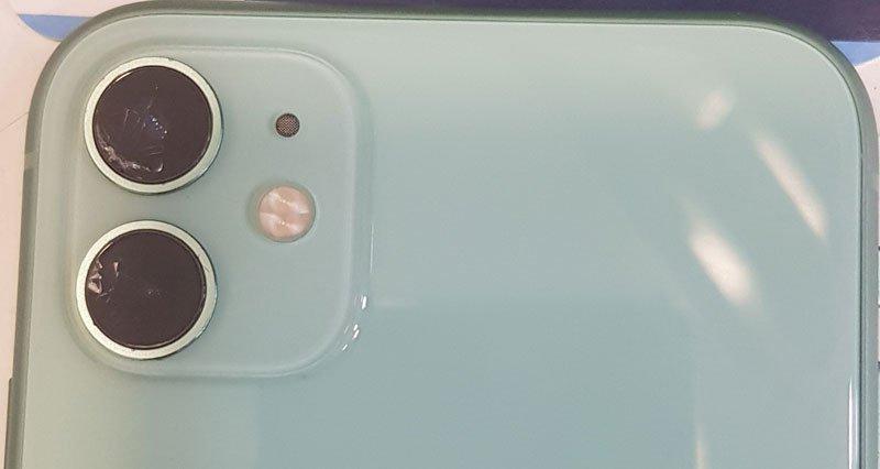 zamena stakla kamere iPhone 11