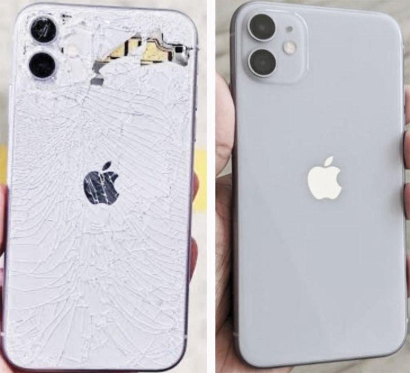 zamena zadnjeg stakla iphone 11
